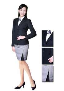 女夏职业装 女白领职业装 职业装定做厂家