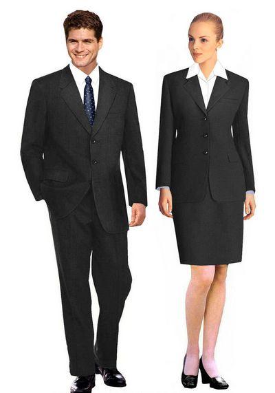 女夏职业装 女白领职业装 订制职业装