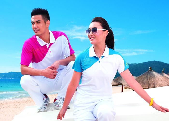 思腾夏季运动T恤产品宣传图