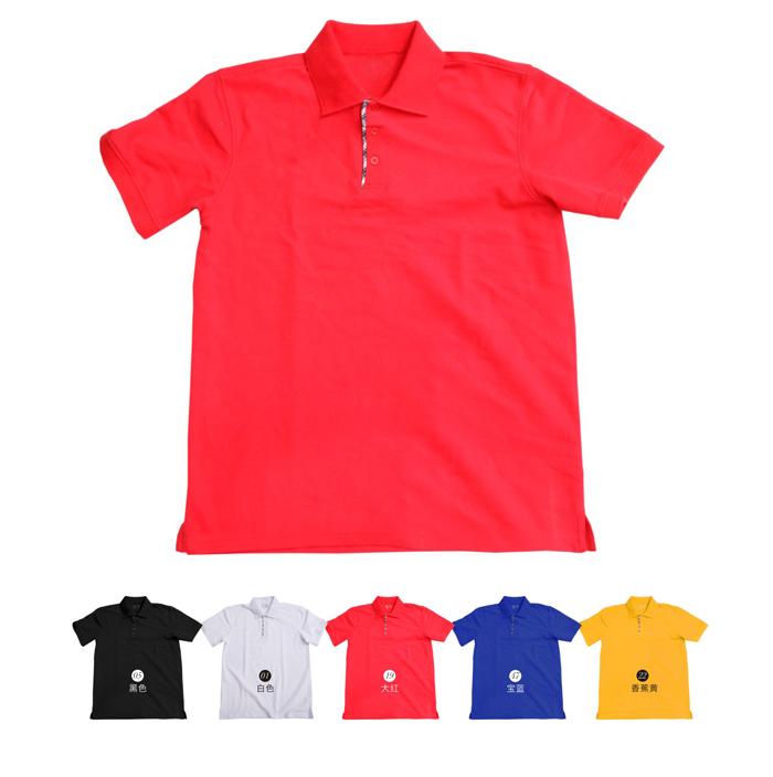 时尚短袖t恤男士polo衫