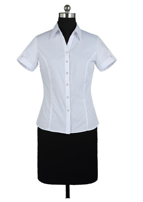 北京高档衬衫 cvc衬衫 职业装衬衫定制厂家