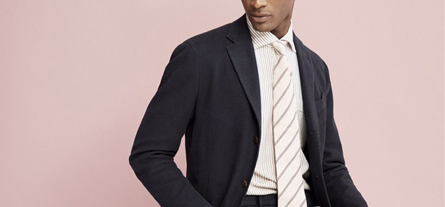北京职业装定做之衬衫领带安置处理