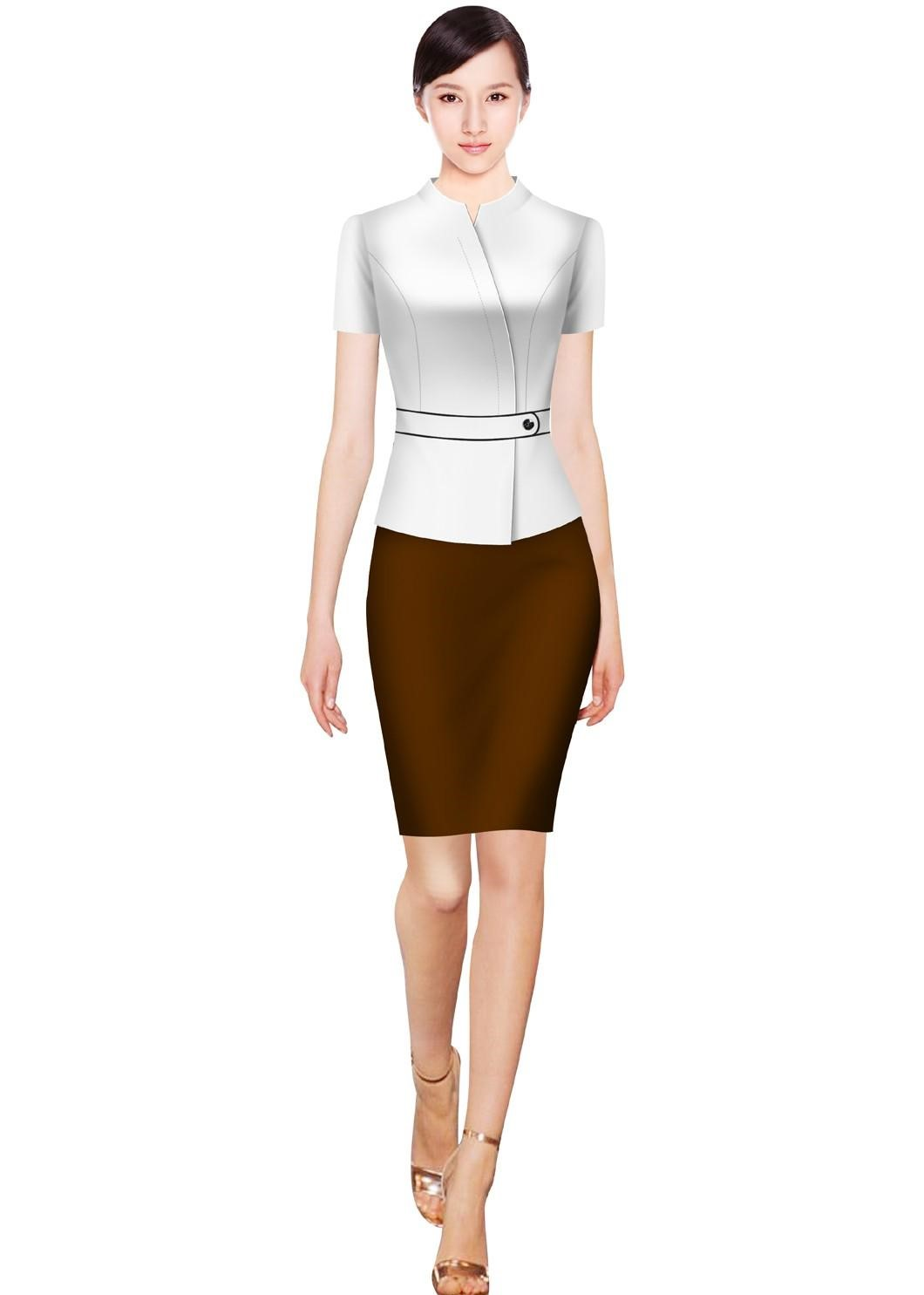 秋冬女性工作服怎样定制?有什么搭配方法?